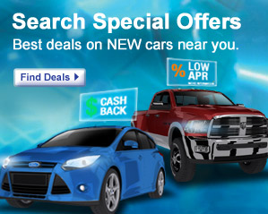 new car deals and new car incentives